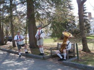 band with tuba