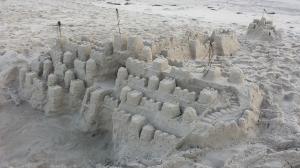 sand-castles