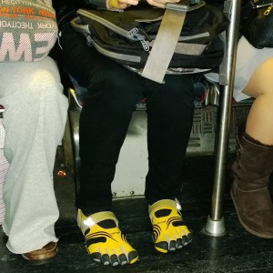 shoes-on-the-MBTA