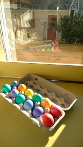 dyed-eggs