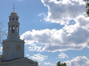 062117-First-Parish-dome-and-clouds