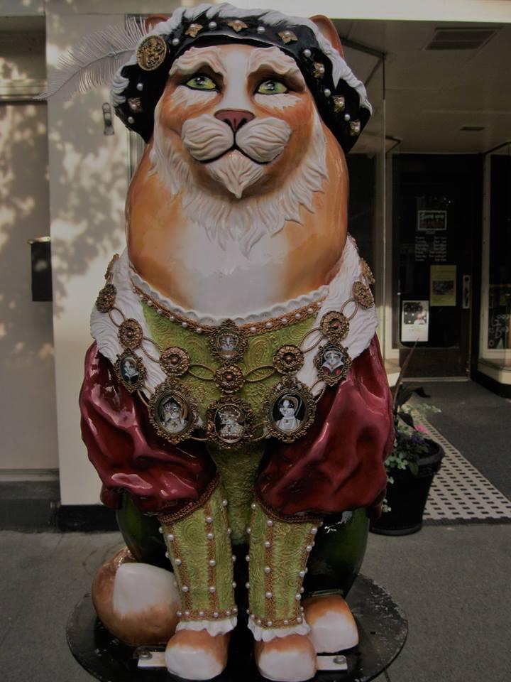 2017-Nancy-Whelan-cat-sculpture-Catskill-NY