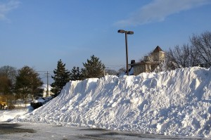 0518-snow-pile-in-parking-lot
