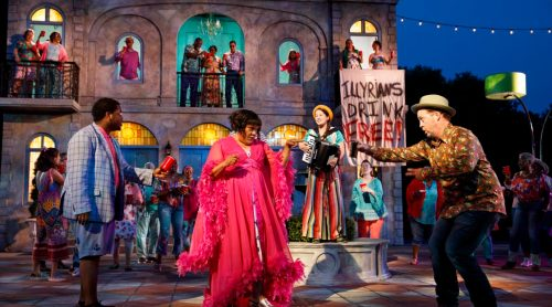 PUBLIC WORKS Musical Adaptation of William Shakespeare's TWELFTH NIGHT  Conceived by Kwame Kwei-Armah and Shaina Taub  Music and Lyrics by Shaina Taub Choreography by Lorin Latarro Directed by Oskar Eustis and Kwame Kwei-Armah  Featuring Kim Blanck (Femal