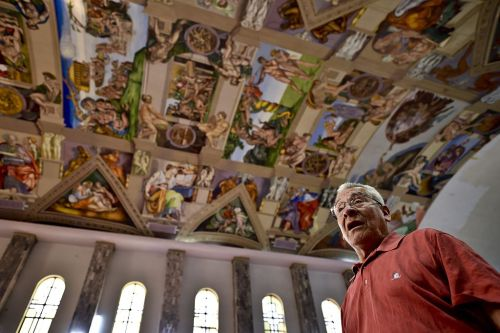 MEXICO-VATICAN-SISTINE CHAPEL-REPRODUCTIONS