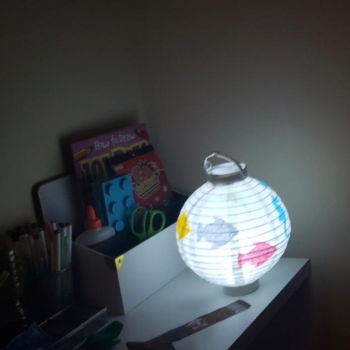 030919-grandson-made-lantern-at-Art-Beat 2