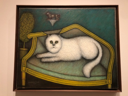 122719-Morris Hirshfield-cat-at-MoMA